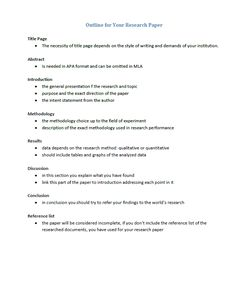 Example Of Paragraph Outline How To Write Creative Writing