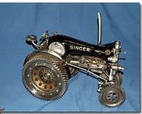 singer sewing machine tractors - Bing Images