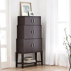 Retro yet modern. Dream Home Design, House Design, Canada Shopping, Modern Love, Online Furniture, Tall Cabinet Storage, Mattress, Shelf, Appliances