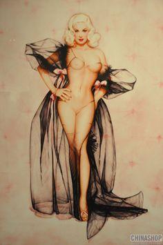 One of my faveorite artists. olivia berardinis