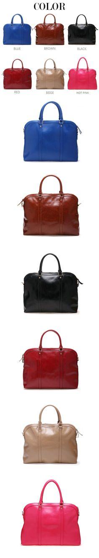 Glazed vintage leather tote