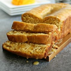 Glazed Mango Bread. Find this and other wonderfully yummy sweet tea bread recipes from food artisans around the world at our site yumgoggle.com
