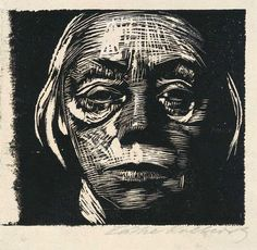 Kathe Kollwitz #woodcut  She was a huge influence on my way of thinking of what is perceived as art and how it can have such a powerful voice