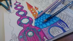 How I color in the Lost Ocean Coloringbook by Johanna Basford. In this Video I'm coloring with Prismacolor Premium Pencils. I hope you enjoy it. I'm happy ab...