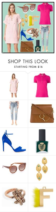 """Best Out fits"" by cate-jennifer ❤ liked on Polyvore featuring Whistles, Tory Burch, Levi's, Ginger & Smart, ncLA, STELLA McCARTNEY, Lizzie Fortunato, MAHA LOZI and Fendi"