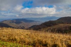 Newfound Mountains from the Appalachian Highlands Science Learning Center at Purchase Knob   Great Smoky Mountains National Park