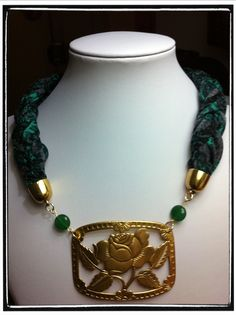 Collar flor chic Beaded Necklace, Chic, Jewelry, Fashion, Chokers, Chains, Jewelery, Beaded Collar, Elegant