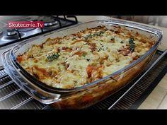 Zapiekany makaron z kurczakiem i warzywami :: Skutecznie.Tv [HD] - YouTube Macaroni And Cheese, Ethnic Recipes, Pierogi, Food, Mango, Youtube, Polish Recipes, Lasagna, Kochen