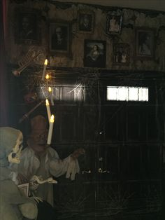My Own Props Halloween 2016 Haunted Mansion  Formal Dining Room Cool Haunted Mansion Dining Room Inspiration