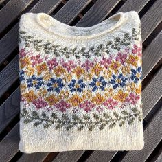 fair isle knitting Ravelry: Project Gallery for Birkin pattern by Caitlin Hunter Fair Isle Knitting Patterns, Sweater Knitting Patterns, Knit Patterns, Baby Knitting, Loom Knitting, Motif Fair Isle, Fair Isle Pattern, Crochet Stitches For Blankets, Fair Isles