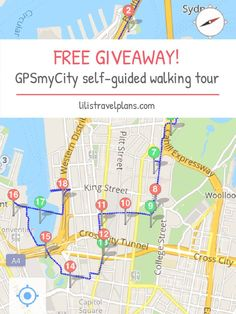 FREE GIVEAWAY: SELF-GUIDED CITY WALK BY GPSmyCITY APP