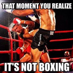martial arts humor, jokes, and fun memes Martial Arts Humor, Muay Thai Martial Arts, Martial Arts Quotes, Martial Arts Workout, Martial Arts Training, Boxing Training, Mixed Martial Arts, Ufc Sport, Fighter Quotes