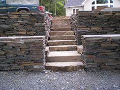 Image detail for -Retaining Walls & Stone Steps | Bricks & Stones Landscape Design Ltd.