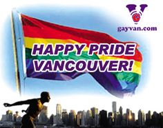 What's On for Vancouver Pride 2017: http://www.gayvan.com/whats-on2/lgbt-special-events