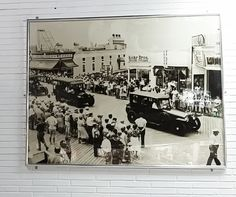At the Ocean City, Maryland location of Kohr Bros. on the boardwalk these two murals are on the wall. Pretty cool to look back on so many years of a family-run business.  #KohrBros #oceancity #boardwalk #frozencustard #familyowned #oceancityicon #softserve #OCMD #maryland