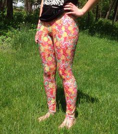 Candy Spandex Leggings by PurpleChinchilla on Etsy https://www.etsy.com/listing/293928153/candy-spandex-leggings