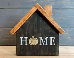 Fall Wood Crafts, Wood Block Crafts, Easy Fall Crafts, Scrap Wood Projects, Fall Projects, Wooden Crafts, Home Crafts, Fall Craft Fairs, Fall Wood Signs