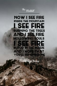ed sheeran - i see fire - lyrics