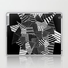 Buy abstract crystal black Laptop & iPad Skin by marionboe. Worldwide shipping available at Society6.com. Just one of millions of high quality products available.