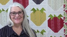"""How to Make a Strawberry Quilt """"free pattern!"""""""