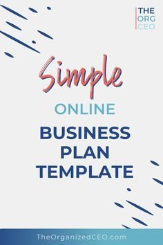 A business plan is a roadmap to the future, which is why I created this business plan template that is perfect for online businesses. Use this business plan template to get organized and set goals for your small business! Online Business Plan, Business Plan Template, Starting A Business, Business Planning, Business Ideas, Online Group, Spelling And Grammar, Be Honest With Yourself, Business Organization