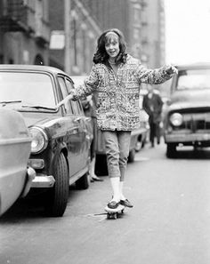 vintage everyday: Skateboarding in NYC, 1960s