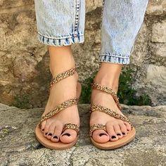d5a74c9497dfdb Beach Flip-Flops Flat Heel Sparkling Glitter Sandals