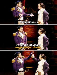 Lafayette & Hamilton BROMANCE | Hamilton Musical