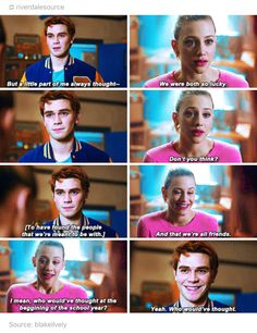 I'm going to be so mad if Archie tries to go for Betty.