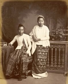 Burmese+Man+and+Wife+-+From+Gladstone+Collection+1880%2527s