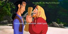 The Road To El Dorado - one of the best movies
