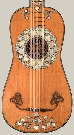 Matteo Sellas (c.1599-1654) Baroque Guitar, Venice (ca.1630-50)