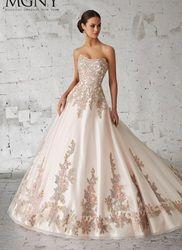 Madeline Gardner New York #51150. Available @ Low's Bridal.