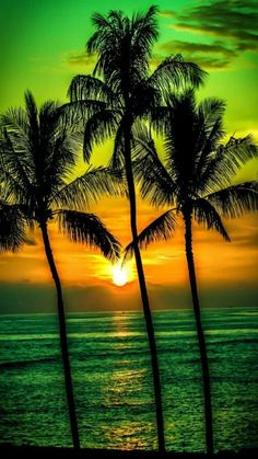 Are your ready to see Emerald green skies Emerald golden seas This is Reality!  Sweet dreams. Good night