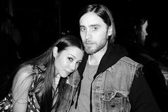 China Chow and Jared Leto #1