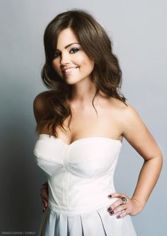 Jenna Coleman The hottest companion The Doctor's ever had.