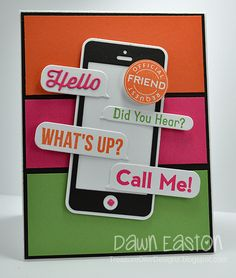 Call Me! by TreasureOiler - Cards and Paper Crafts at Splitcoaststampers