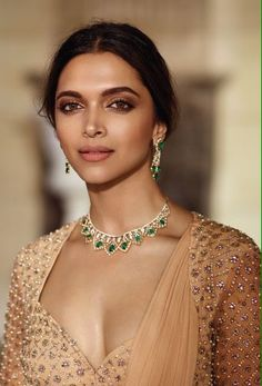 Deepika Padukone for Tansihq Jewelers