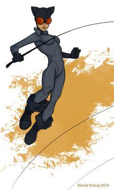 Catwoman by randybishopart.deviantart.com on @deviantART