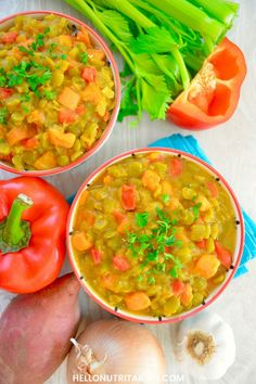 Made from simple whole foods, this vegan, nutritarian and oil-free Split Pea & Sweet Potato soup will leave you supremely satisfied! Vegan & Nutritarian