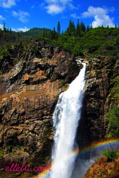 Feather Falls, Oroville Ca. Hiked this 9 mile round trip trail...exhausting, but well worth it!