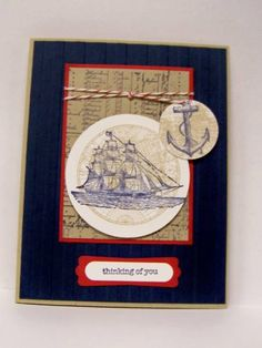 Open Sea by BrendaRiehle - Cards and Paper Crafts at Splitcoaststampers