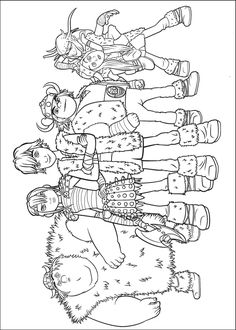 18 Free How To Train Your Dragon Coloring Pages For Kids Printable / Free  Printable Coloring Pages For Kids   Coloring Books
