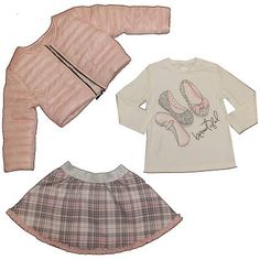 Cutey Couture Girls Jacket, Top & Skirt Set, 1-3 jaar Pink Girl, Skirt Set, Girl Outfits, Rompers, Couture, Girls, Jackets, Clothes, Tops