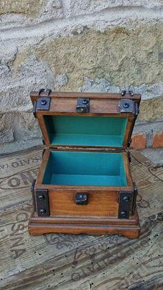 wood jewelry box wood box for watch by DorealiStudioRoma on Etsy