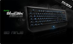 Razer BlackWidow Ultimate Gaming Keyboard - Mechanical Keyboard