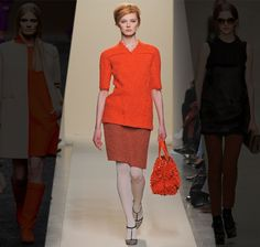 """2011's """"60's"""" red. It's a little obnoxious, but then again, I guess we'll see how it's translated off-runway."""