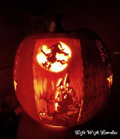 Pumpkin Carving of the witching hour