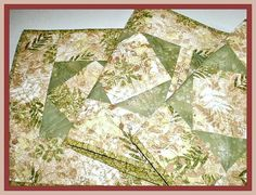 Quilted Table Runner Table Topper Table Accent by Love2quilt