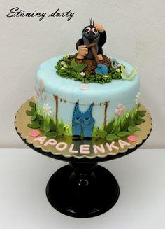 Cake Tutorial, Amazing Cakes, Birthday Cake, Vintage Cakes, Food, Ideas, Apple, Kids, Birthday Cakes